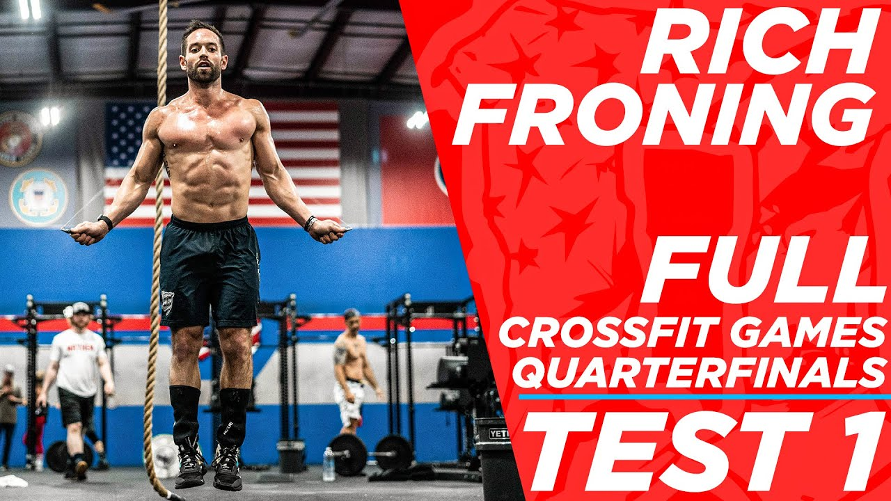 Download RICH FRONING *FULL* CROSSFIT GAMES QUARTERFINAL TEST 1