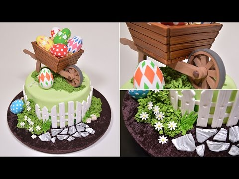 Easter Wheelbarrow Cake Introduction Youtube