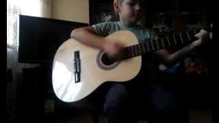 мальчик нереально круто играет на гитаре (Демобилизация)HD