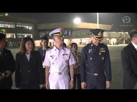 APEC 2015: Arrival of Prayuth Chan-ocha, Thailand Prime Minister