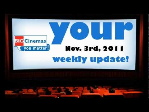 Your Weekly Update from BIG Cinemas | Nov. 3, 2011 - Loot, The Rum Diary, Ra.One