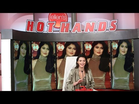 Kendall Jenner Plays 'Hot Hands: Kardashian Jenner Edition'