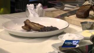 Making Meals: Il Mito's Lamb Chops With Blueberry Mint Sauce (part 2)