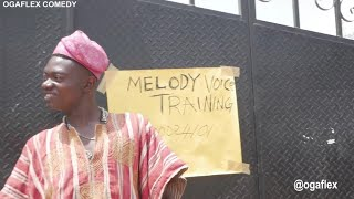 MELODY VOICE TRAINING || real house of comedy ft ogaflex