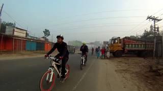 MR Bike Stream  62: through the fog for Ensar Ali's breakfast