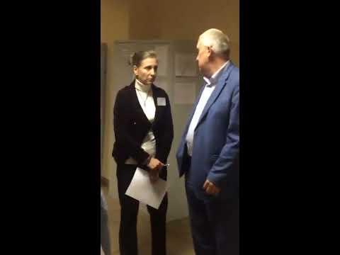 Выборы 2019. СПб. УИК №11. Столяров мешает и препятствует членам УИК.