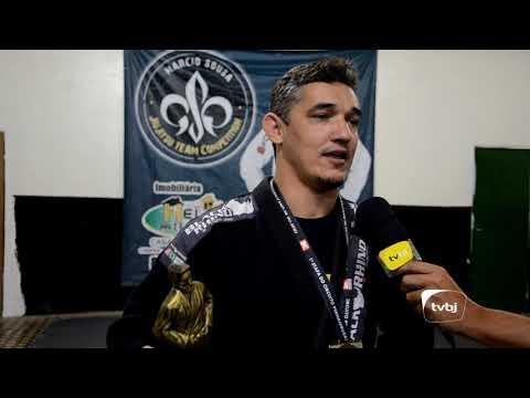 TV Belo Jardim - Márcio Souza campeão da Circuito Pernambucano de Jiu-Jitsu