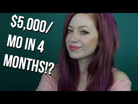 FREELANCE WRITING TIPS: $5,000/mo in 4 MONTHS (HOW I DID IT!)