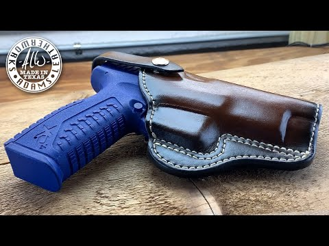 "Making A Field Style Gun Holster - Springfield XD-M 4.5"" 10mm"
