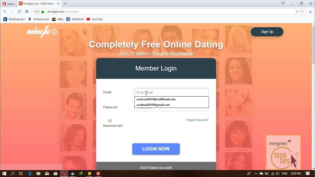 Mingle2 Login Sign In 2019 | Dating Online Login | Dating Guide | Web Tech  Tutorial