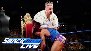 Chad Gable interrupts the coronation of Baron Corbin: SmackDown LIVE, Sept. 17, 2019