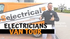 Electricians Van Tour!!