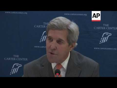 Kerry urges Kenya to resolve vote disputes