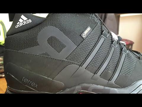 adidas Outdoor Terrex Fast R Mid GTX® SKU:7983311 YouTube