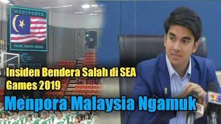 Insiden Bendera Salah di SEA Games 2019, Menpora Malaysia Ngamuk