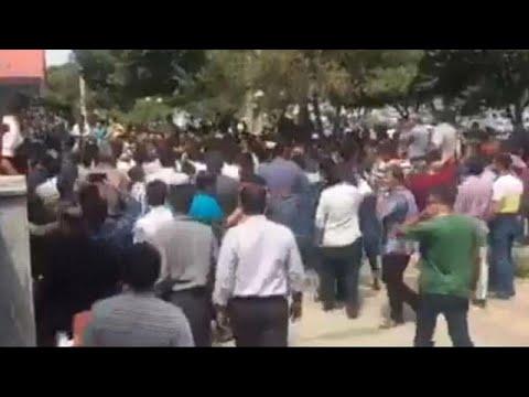 مظاهرات في إيران ضد الغلاء والفساد والحكومة مع اقتراب عودة العقوبات…  - 16:21-2018 / 8 / 4