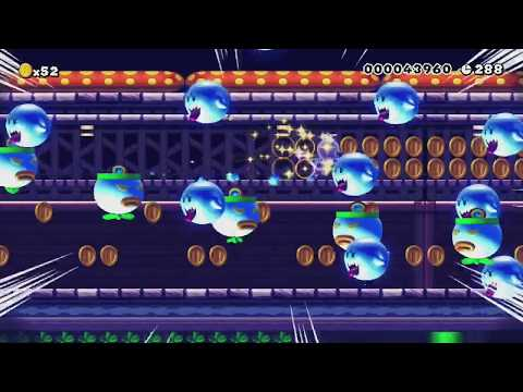 ◆Ghost House Level◆ by Charlie - SUPER MARIO MAKER - NO COMMENTARY