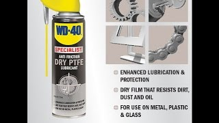 How to protect tools with no oily residue of using WD-40 Dry Lube 360ml thumbnail