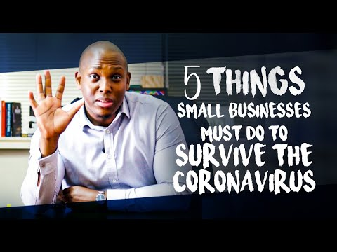 How your Small Business can survive Coronavirus.