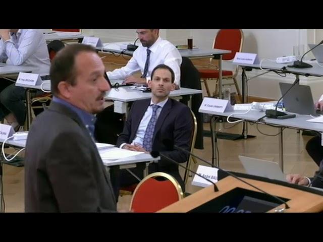 Marc Baum - Debatt iwwer d'Policereform