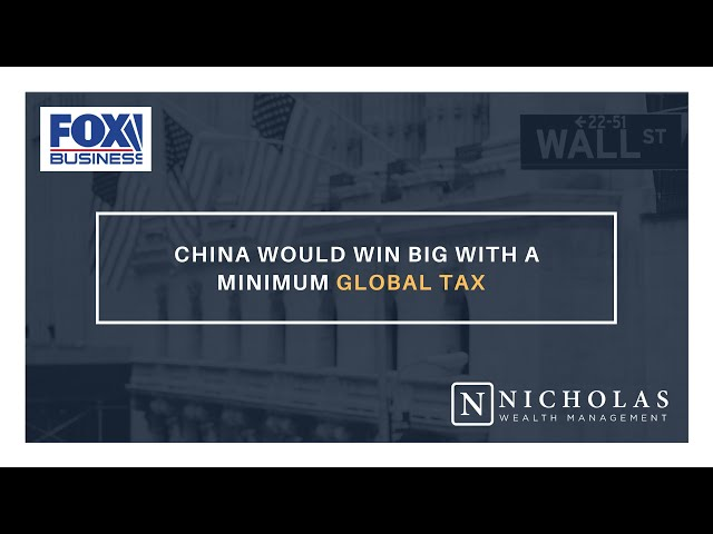 China Would Win Big with a Minimum Global Tax