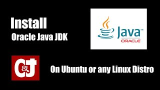 How to install Oracle Java JDK  on Ubuntu Linux