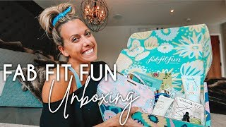 FAB FIT FUN | Spring Editor's Box Unboxing & Honest Review
