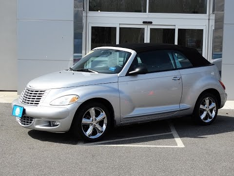 2005 chrysler pt cruiser gt convertible j9160a youtube. Black Bedroom Furniture Sets. Home Design Ideas