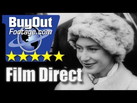 Princess Margaret Attends Cambridge vs Oxford Shell Race 1962 FILM DIRECT