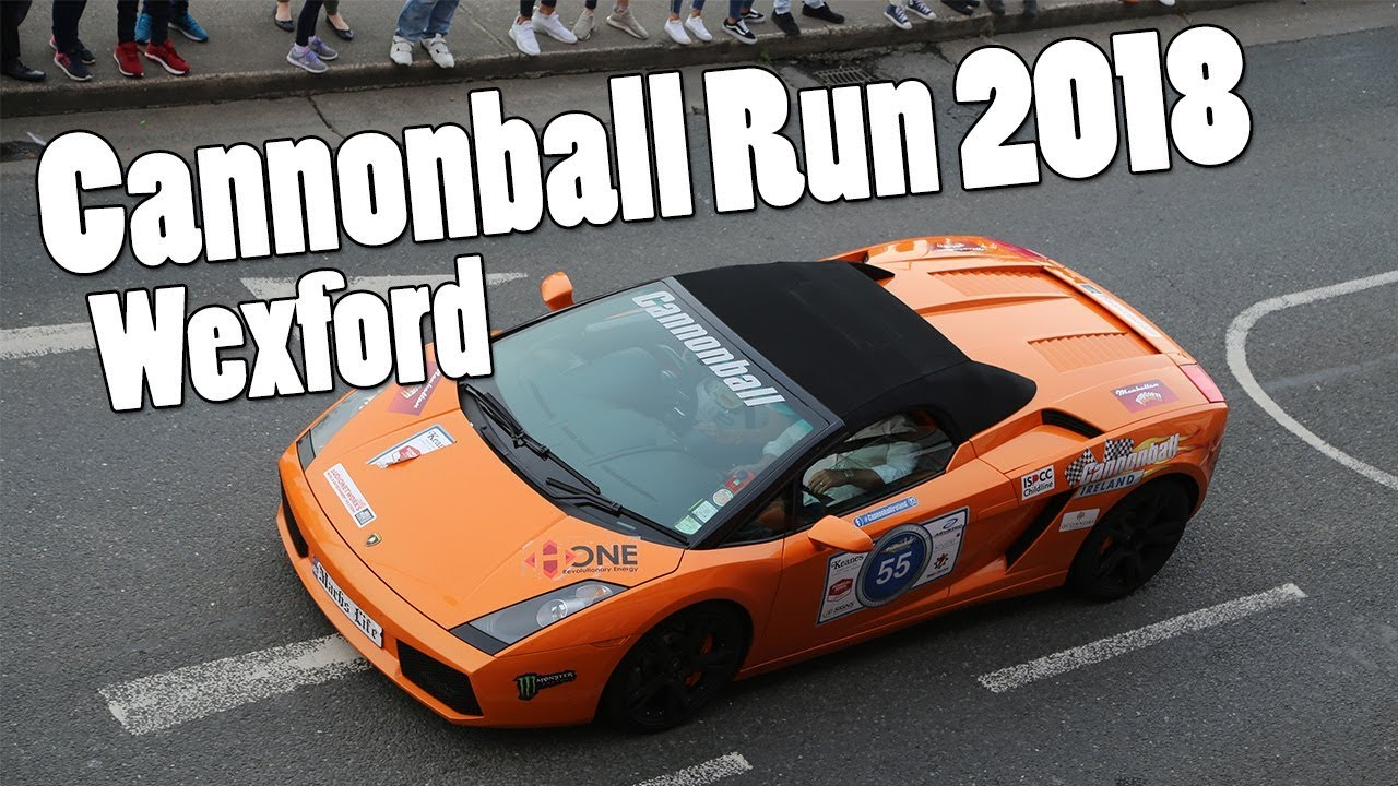 Cannonball Run 2018 Wexford