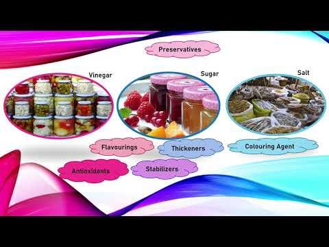 FOOD CHEMISTRY : PRESERVATIVES & ADDITIVES (BEGINNERS GUIDE)
