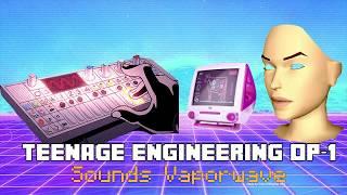 Vaporwave with Teenage Engineering OP-1 蒸気波 (feat. Blank Banshee // Simpsonwave)