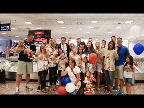 Missionary Sees Family After 2 Years! || Elder Kaden Larsen