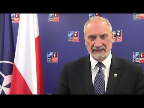 Bezpieczeństwo dla Polski - wypowiedź ministra A. Macierewicza przed Szczytem NATO