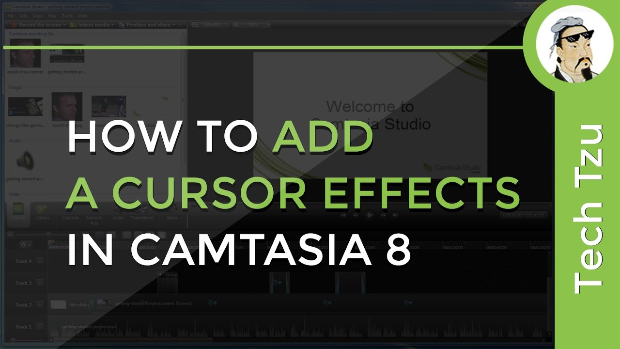 how to add text in camtasia 9