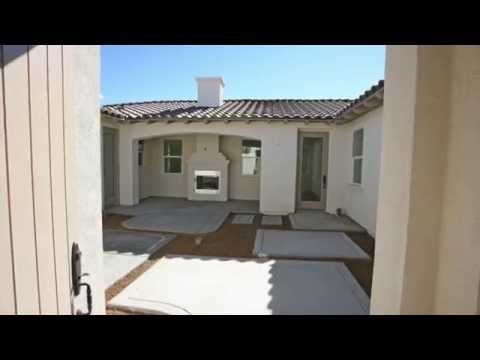 Mesquite Courtyard Homes  - New Homes in Yucca Valley Construction Progress Pics  11/1/2014