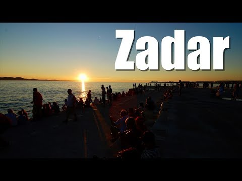 Zadar City Tour and Maraschino. Croatia, Croacia.