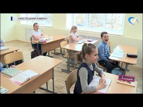 В Крестецком районе обсудили аренду лесных участков, ремонты школ и вопросы здравоохранения