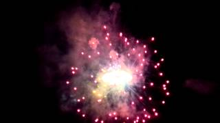Fireworks - 2015 Pan Am games one year countdown, Ajax, ON