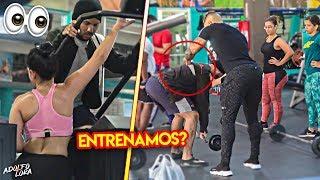 VOY AL GIMNASIO VESTIDO DE VAGABUNDO Y PASA ESTO...