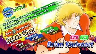 Captain Tsubasa Dream Team ( Brian Kulivoort - Netherlands Prestige ) Skills Preview+Win Quotes