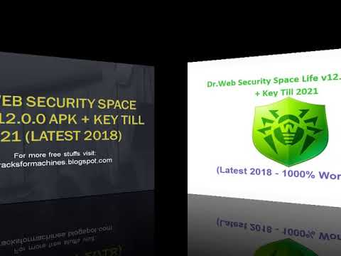 Dr Web Security Space Life v12 0 0 APK + Key Till 2021 Latest 2018