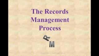 Basics of Records Management, Part 1 thumbnail