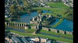 "FLAT EARTH BRITISH, ""The Welsh Castles key.""& John Speed Maps."