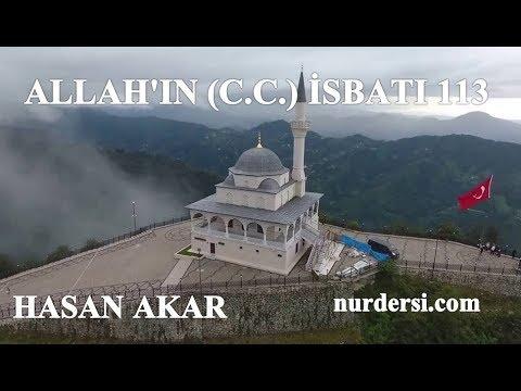 Hasan Akar - Allah'ın (C.C.) İsbatı 113