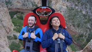 Terror-Dactyl Cave of the Winds, Colorado Springs. Guy Scared of heights