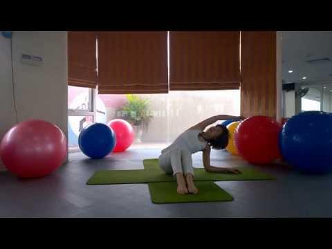YOGA giảm cân - Bài tập yoga giảm mỡ bụng siêu nhanh (Yoga for Weight Loss) #giamcan