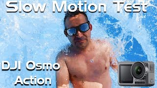 DJI Osmo Action Kamera im Slow Motion Test