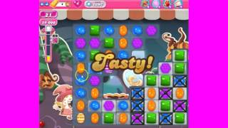 Candy Crush Saga Level 1297  - no boosters