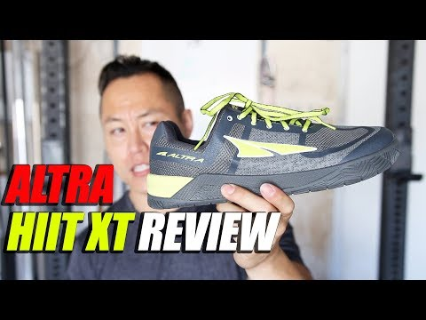 Altra HIIT XT Training Shoe Review